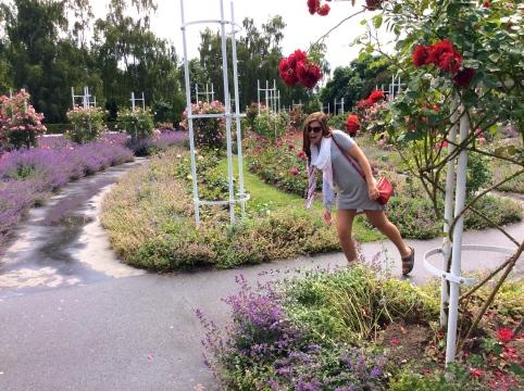 Petrin garden